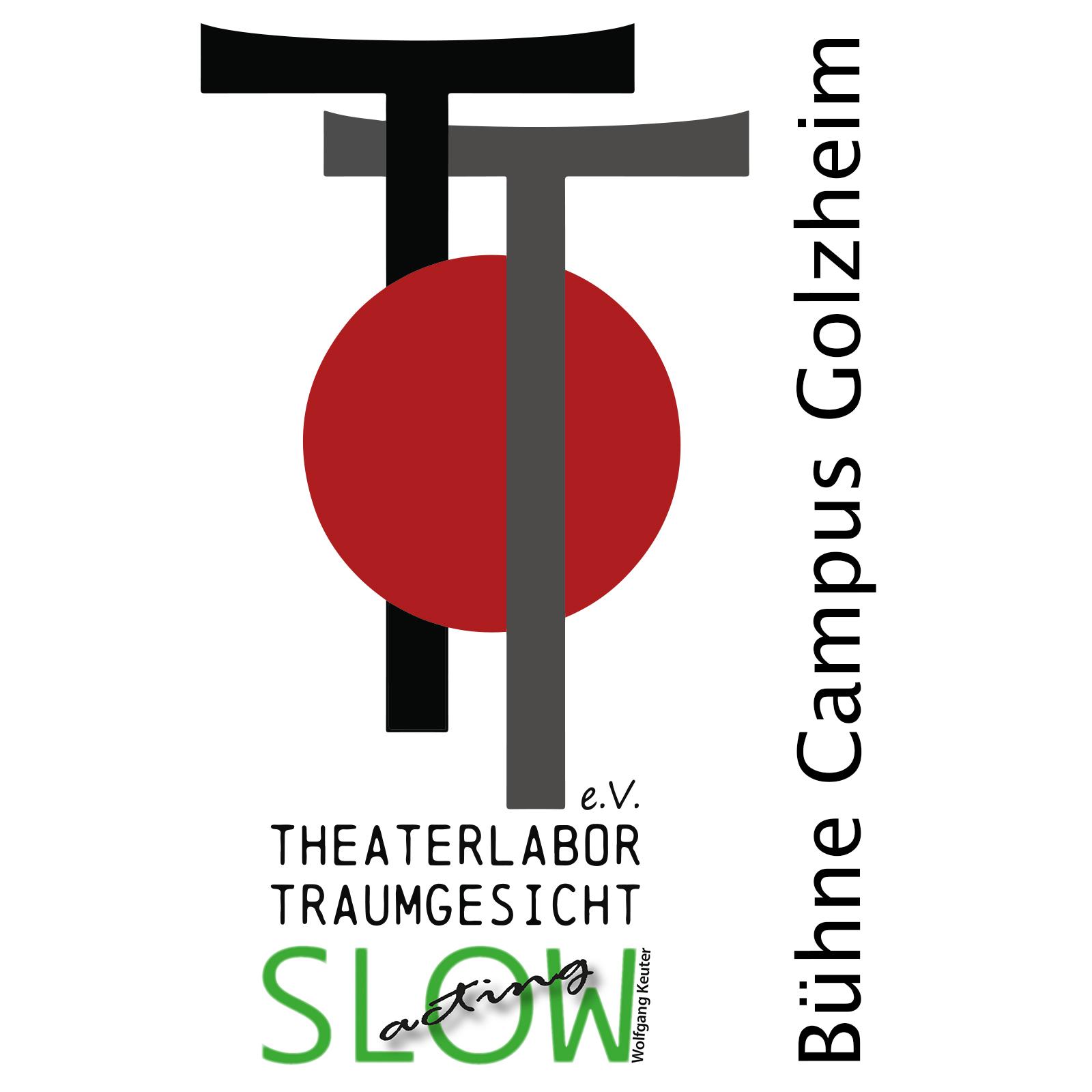 Logo und Bühne